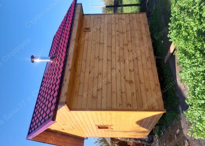 Каркасная баня 3х4 метра в г.Тейково - готова